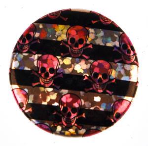 Pink Skulls Badge