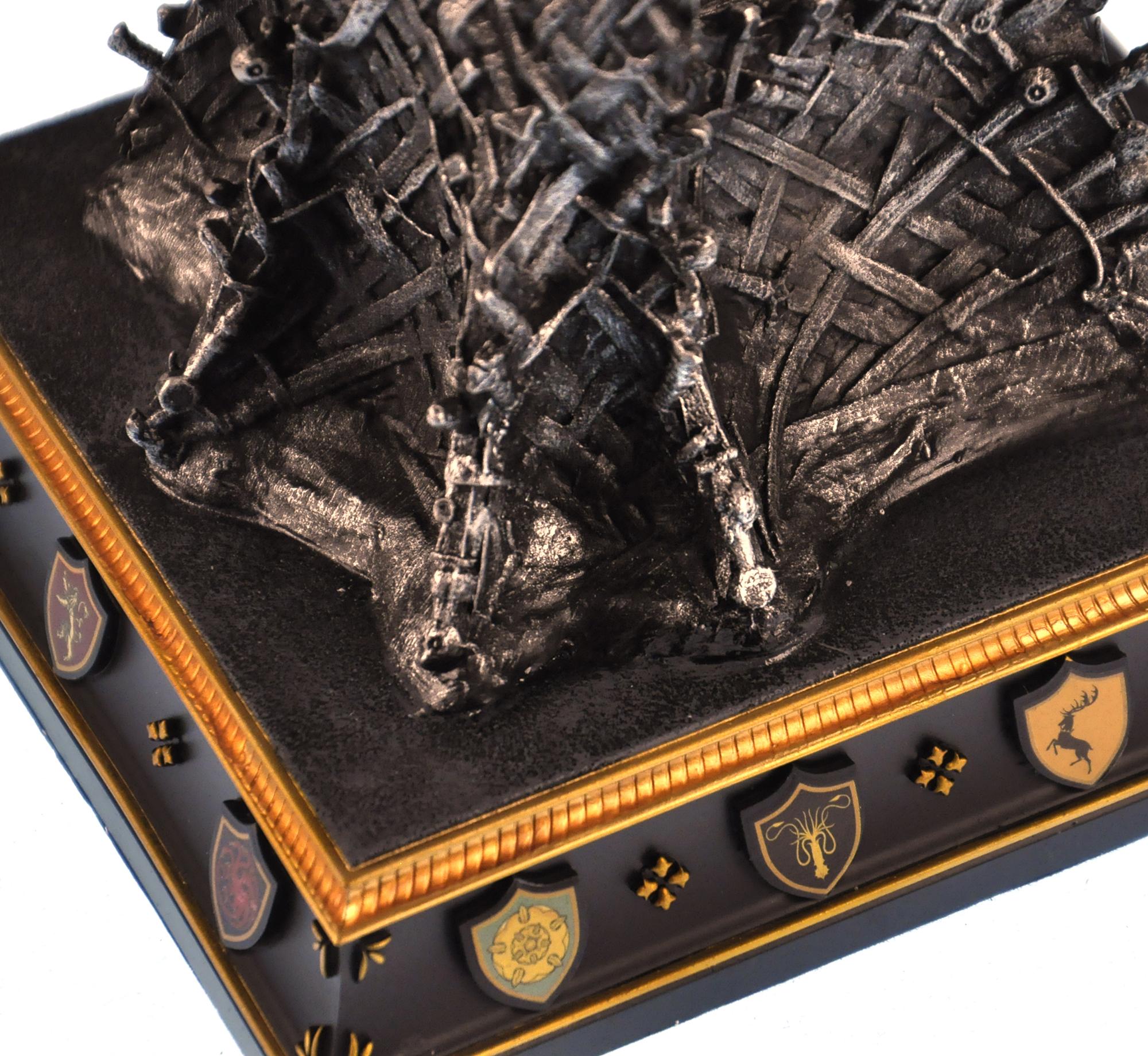 THE Iron Throne THE Game OF Thrones Replica eBay