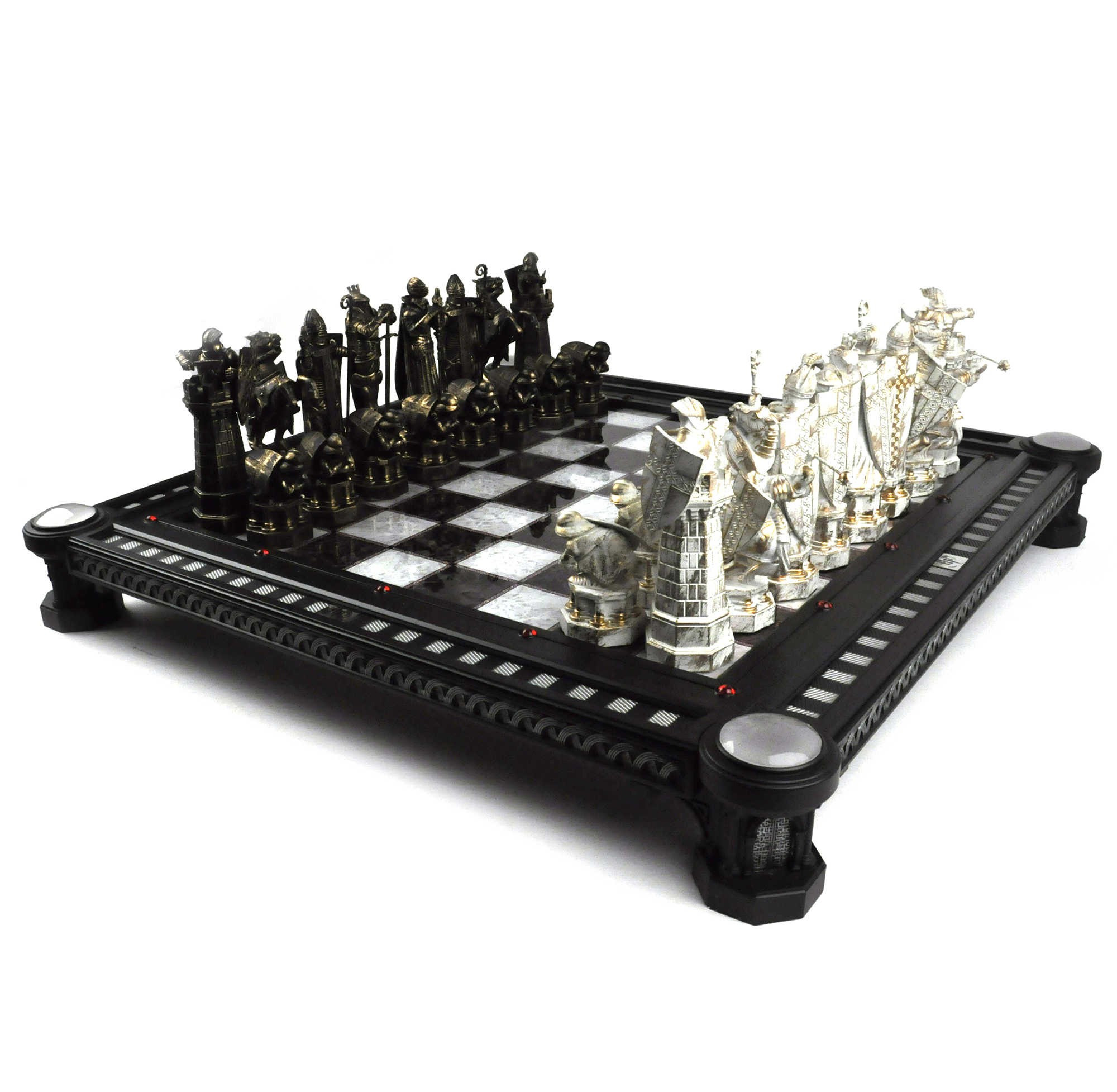 The wizards chess set from harry potter and the philosophers stone deluxe repl ebay - Deluxe chess sets ...