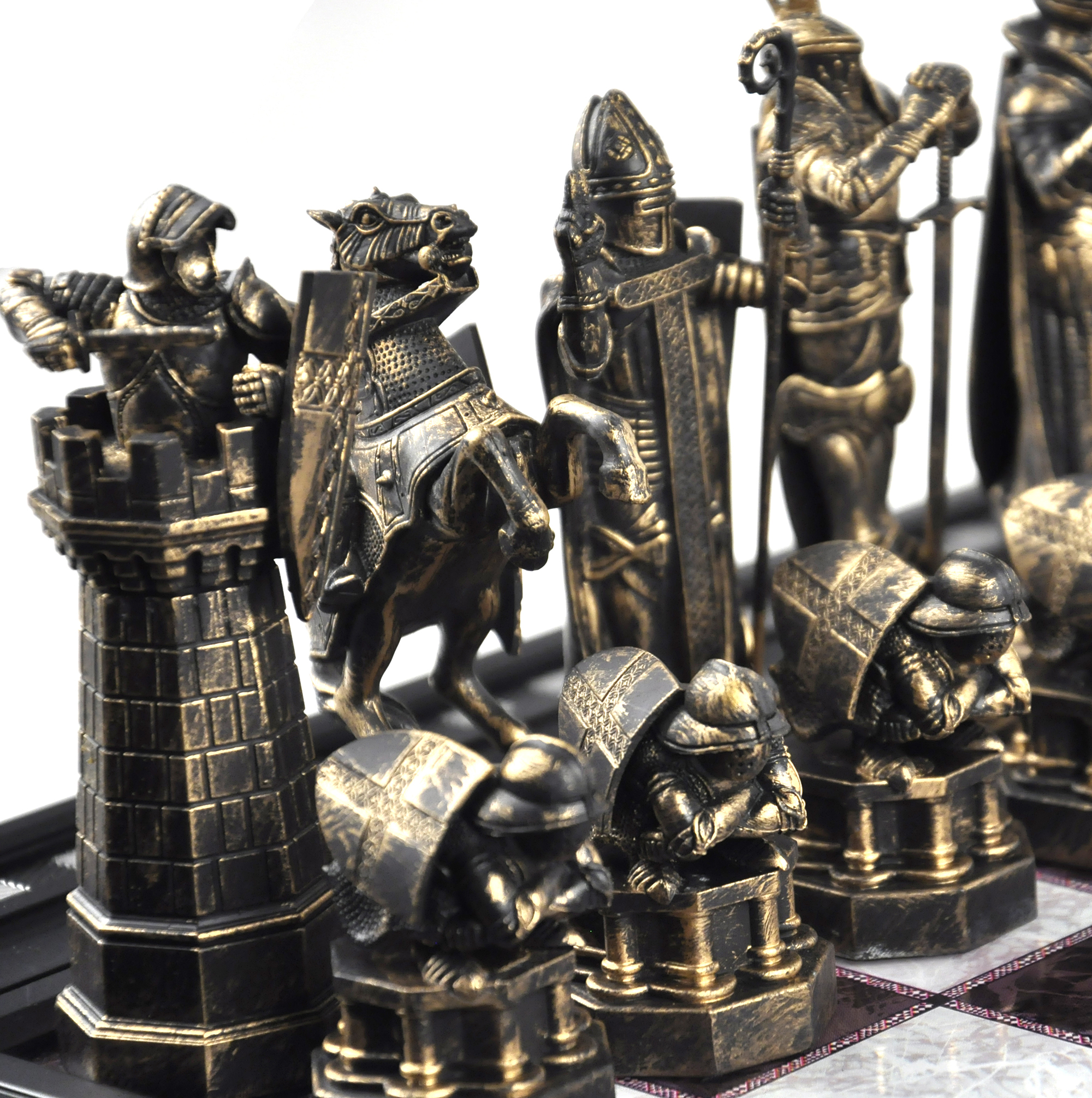 The wizard 39 s chess set from harry potter and the - The chessmen chess set ...