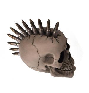 Bullet Mohawk Skull - 19cm Thumbnail 2