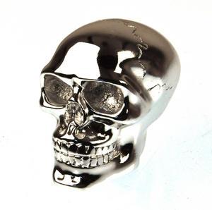 Chrome Skull Gear Knob Thumbnail 1