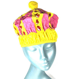 Queen of the Bathroom Bath & Shower Cap / Swim Cap Crown Thumbnail 1