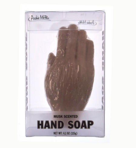 Hand Soap - Hand Shaped & Musk Scented Fun
