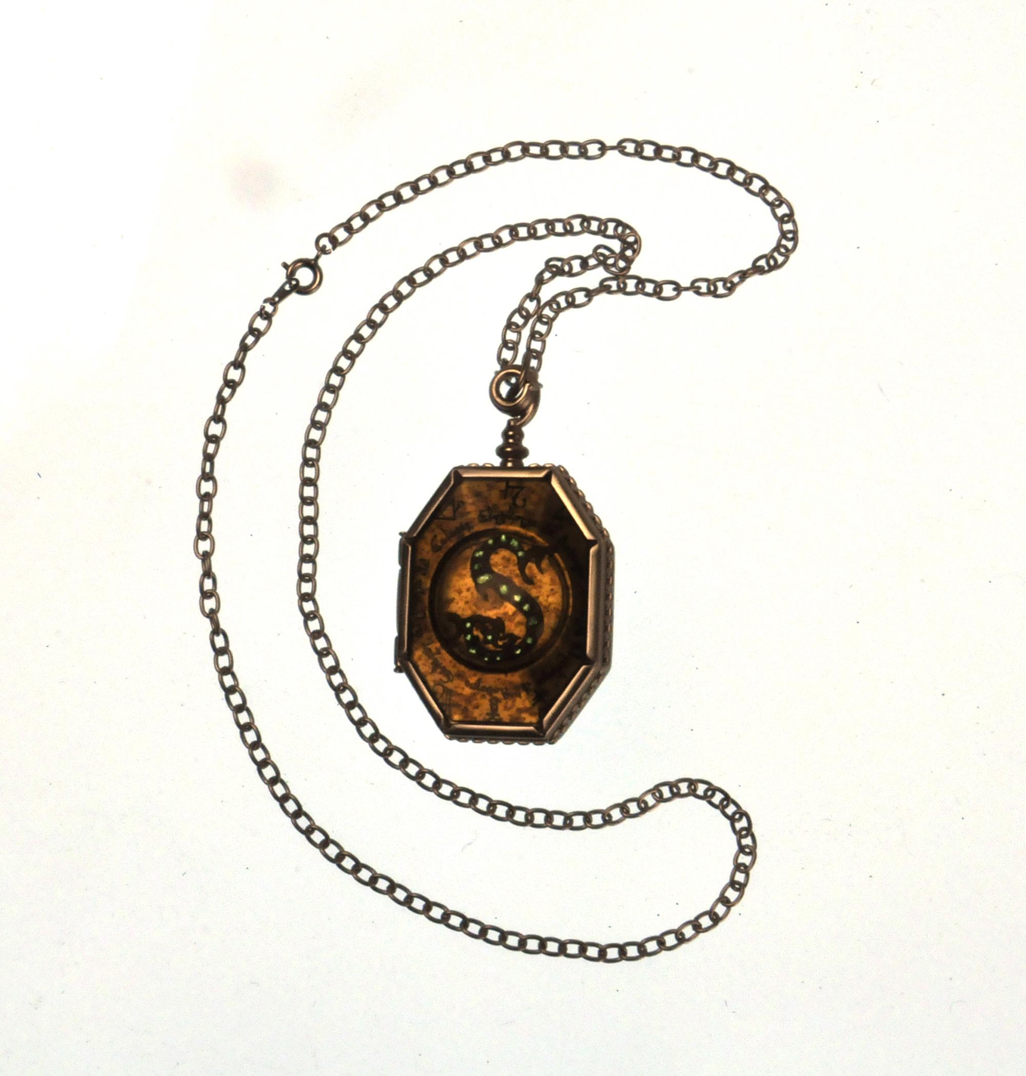harry potter replica horcrux locket of salazar slytherin