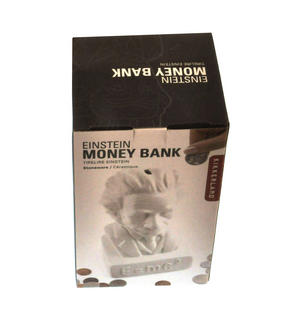 Albert Einstein Ceramic Money Box Thumbnail 4