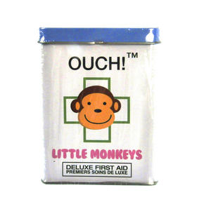 Little Monkeys - First Aid In A Tin - Plasters / Band Aids