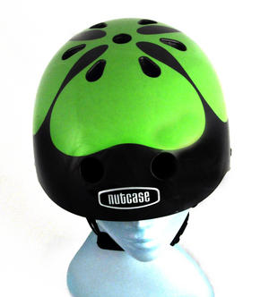 Got Luck ? Black Pearl Four Leaf Clover - Child Nutcase Street Sport Helmet for Bicycle, Board or Blade Thumbnail 1