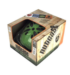 Got Luck ? Black Pearl Four Leaf Clover - Child Nutcase Street Sport Helmet for Bicycle, Board or Blade Thumbnail 6
