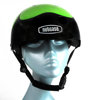 Got Luck ? Black Pearl Four Leaf Clover - Child Nutcase Street Sport Helmet for Bicycle, Board or Blade Thumbnail 7