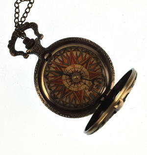 Pocket Skeleton Compass Antique Scientific Instrument Thumbnail 8