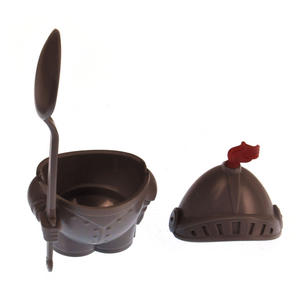 Egg Knight in Armour - Egg Cups and Spoon Set Thumbnail 2