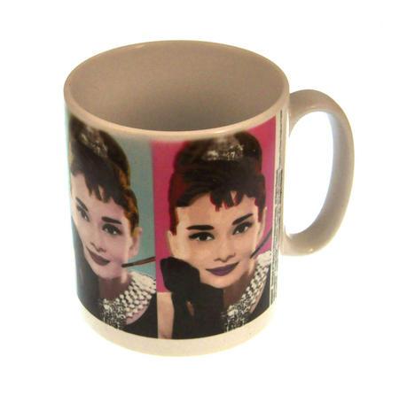Audrey Hepburn Warhol Portraits Mug