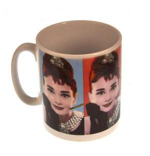 Audrey Hepburn Warhol Portraits Mug Thumbnail 3