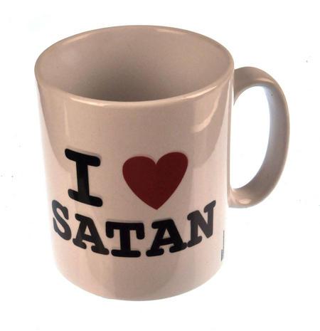 I Love Satan Mug