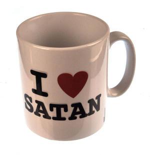 I Love Satan Mug Thumbnail 1