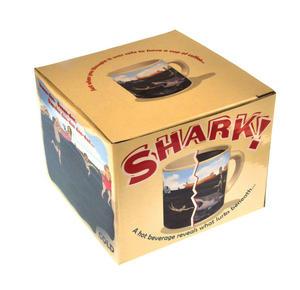 Shark Attack Beach - Heat Change Mug Thumbnail 2