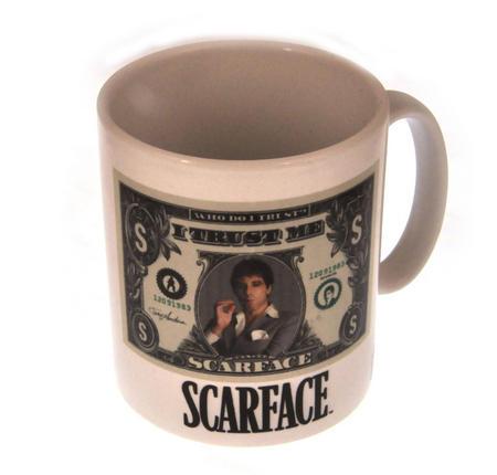 Scarface - I Trust Me Dollar Bill Mug