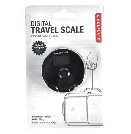 Super Light & Compact Travel Scale - Airport Baggage Checker
