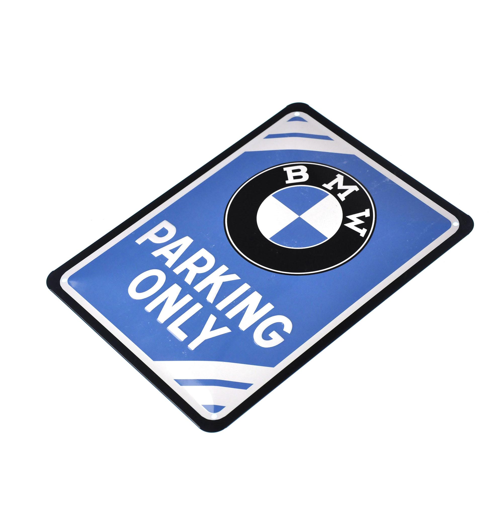 BMW APARCAMIENTO SÓLO Cartel De Metal EBay - Bmw parking only signs