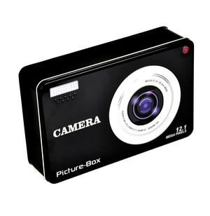 Smile! Camera Picture Box Keepsake Metal Tin Thumbnail 3