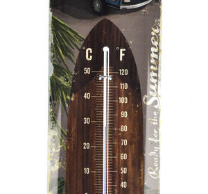 VW Bus Thermometer featuring Volkswagen Camper Van Thumbnail 2