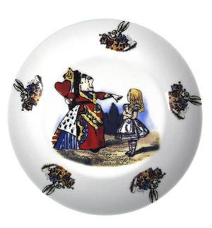 Alice In Wonderland Fine Porcelain Child's Breakfast Set Thumbnail 2
