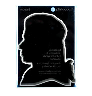 Mozart Cookie Biscuit Cutter Thumbnail 1