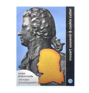 Mozart Cookie Biscuit Cutter Thumbnail 2
