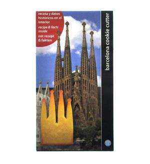 Gaudi's Sagrada Familia Barcelona Cookie Biscuit Cutter Thumbnail 3