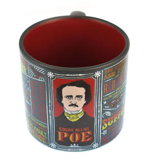 Edgar Allan Poe Mug Thumbnail 1