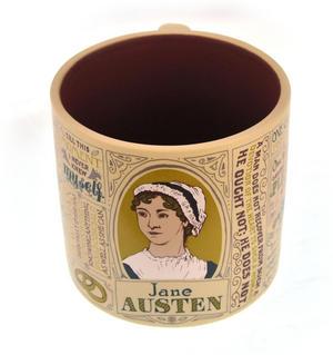 Jane Austen Mug Thumbnail 1