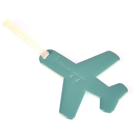 Happy Flight Blue Aeroplane Doll - Luggage Identifier by Alife Design