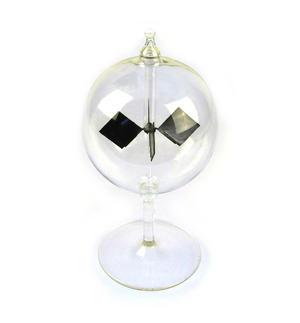 Solar Radiometer -  Replica of Crookes Radio meter Light Mill - Measures Radiant Flux of Electromagnetic Radiation Thumbnail 1