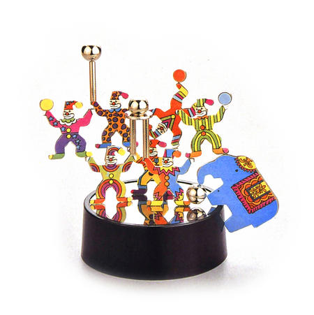 Magnetic Magic Box - Circus Clown Magnet Sculpture