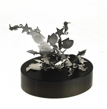 Magnetic Seahorses, Sharks & Seashells - Sealife Magnet Sculpture