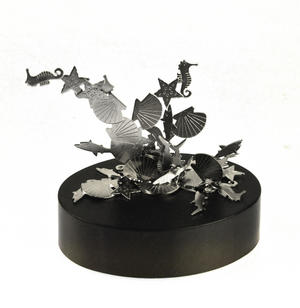Magnetic Seahorses, Sharks & Seashells - Sealife Magnet Sculpture Thumbnail 1