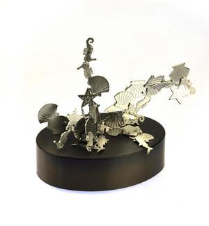 Magnetic Seahorses, Sharks & Seashells - Sealife Magnet Sculpture Thumbnail 3