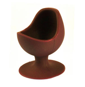Maroon Egg Chair - Silicone Zone Collection Egg Cup Thumbnail 2
