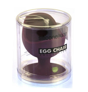 Maroon Egg Chair - Silicone Zone Collection Egg Cup Thumbnail 3