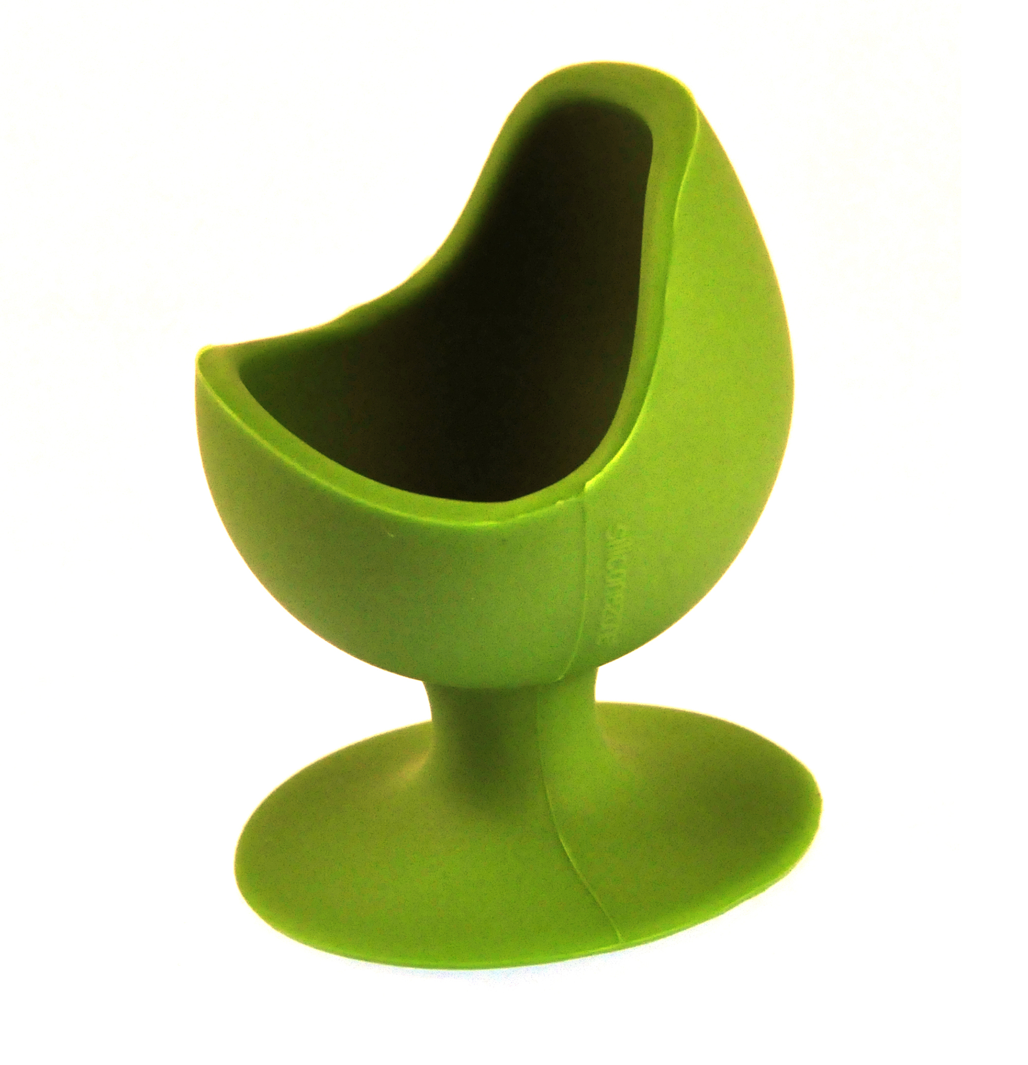 green egg chair silicone zone collection egg cup. Black Bedroom Furniture Sets. Home Design Ideas