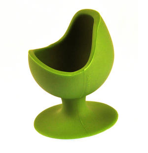 Green Egg Chair - Silicone Zone Collection Egg Cup Thumbnail 2