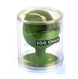 Green Egg Chair - Silicone Zone Collection Egg Cup Thumbnail 3