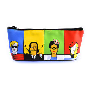Great Modern Artists Pencil Case feat. Dali Warhol Kahlo Picasso