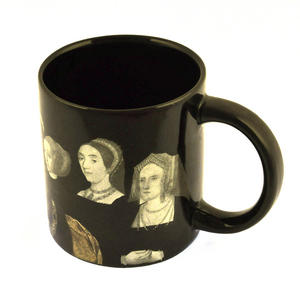 Henry VIII and His Disappearing Wives Heat Change Mug Thumbnail 2