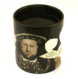 Henry VIII and His Disappearing Wives Heat Change Mug Thumbnail 4