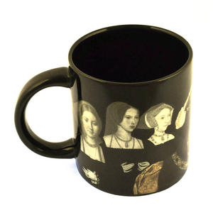 Henry VIII and His Disappearing Wives Heat Change Mug Thumbnail 8