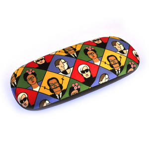 Great Modern Artists Glasses Case - Picasso Dali Warhol Kahlo with Lichtenstein Lens Cloth