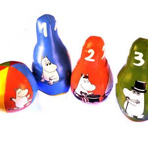 Moomins Soft Skittles Pin Bowling Set Thumbnail 3