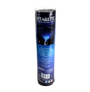 Starlite Purple Fibre Optic Mood Lamp Thumbnail 3